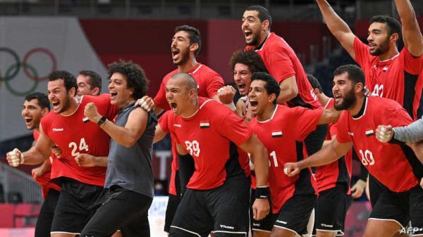 مصر أول منتخب عربي يبلغ نصف نهائي مسابقة كرة اليد في أولمبياد طوكيو* .