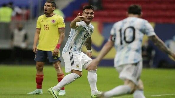 الأرجنتين تضرب موعدا ناريا مع البرازيل في نهائي كوبا أمريكا