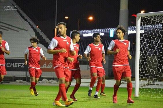مواصلة استعدادات المنتخب اليمني لمواجهة أوزبكستان.. والمطري يغيب للإيقاف