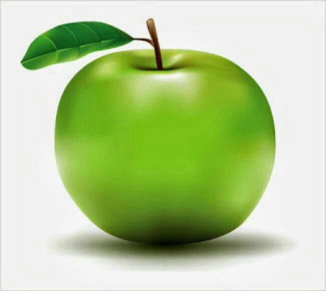 التفاح الاخضر وفؤائدة