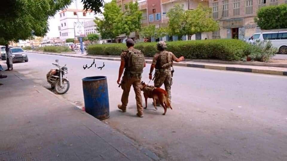 حضرموت : قوات أمريكية بمهمة حماية بعثة طبية خارجية زارت مستشفى غيل باوزير