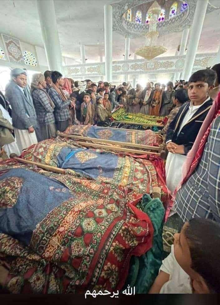 وفاة عائلة كاملة في ذمار بحادث مروري (قصة محزنة)